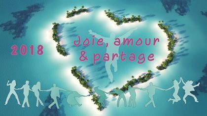 2018 – Joie, amour &partage